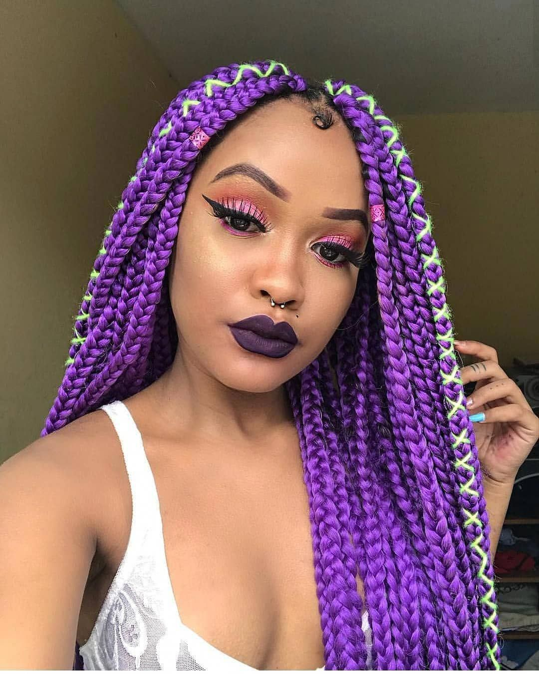 21 stunning purple ombre hair color ideas for 2019 box