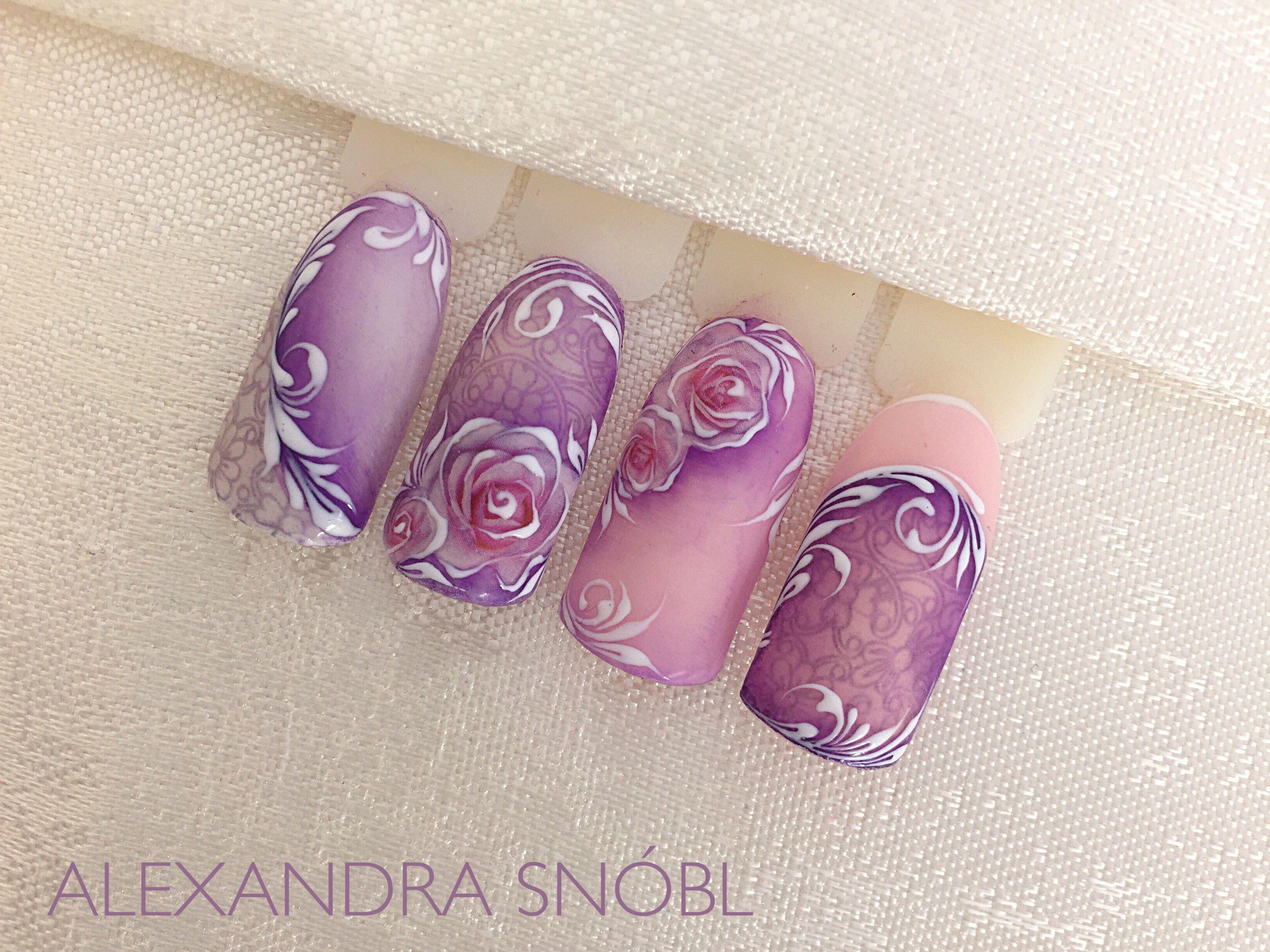 Pin by Alexandra Snobl on Moyra nail stamping   Pinterest   Nail ...