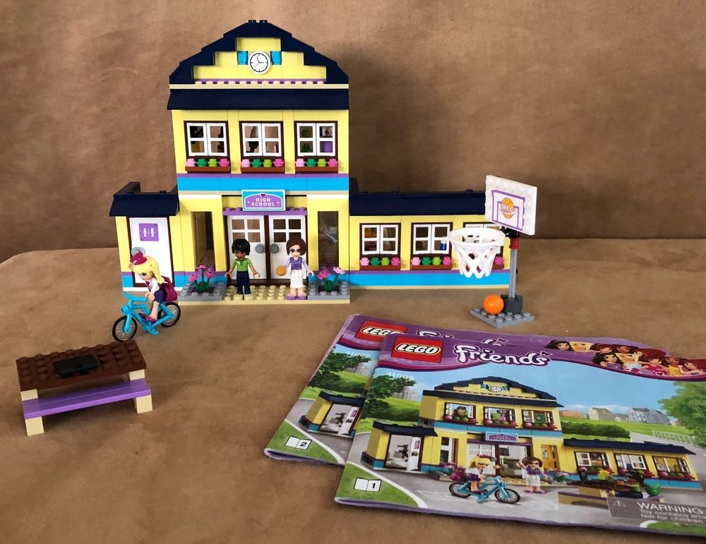 41005 Lego Complete Friends Heartlake High School Instructions