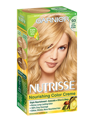 Nourishing Color Creme 93 - Light Golden Blonde (Honey Butter)