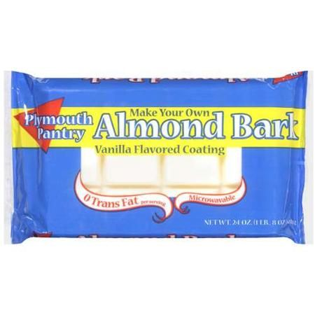 Plymouth Pantry Almond Bark Vanilla Baking Bar 24 Oz