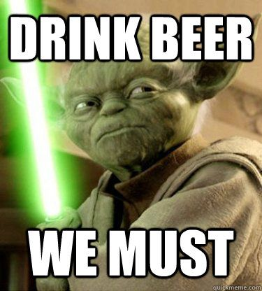 May The 4th Be With You Beer Craftbeer Starwarsday Yoda