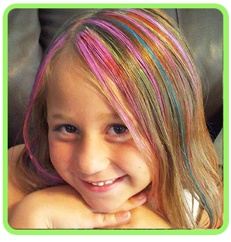 Funlights™ | Funlights Hairlights | Pinterest | Colored highlights ...
