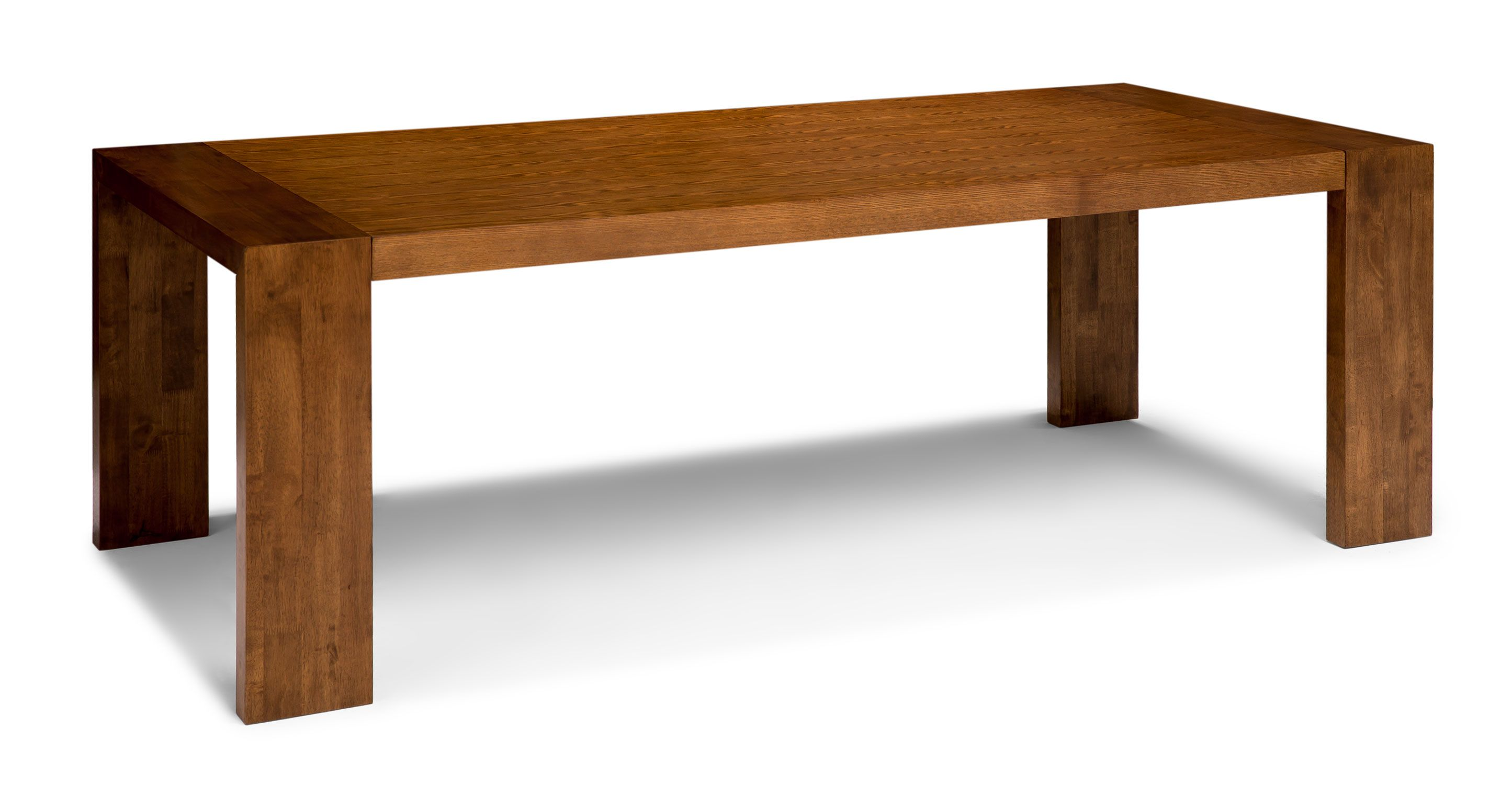 Clarkson Cocoa Wood Dining Table   Wood Tables   Bryght | Modern,  Mid Century And Scandinavian Furniture