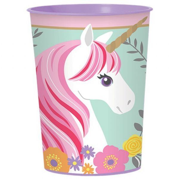 Amscan Magical Unicorn Party Tableware Birthday Plastic Decoration Supplies Cups