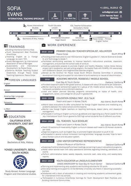 simple timeline microsoft resume template  vista resume