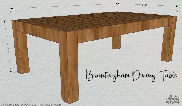 Chunky modern dining table modern dining table chunky