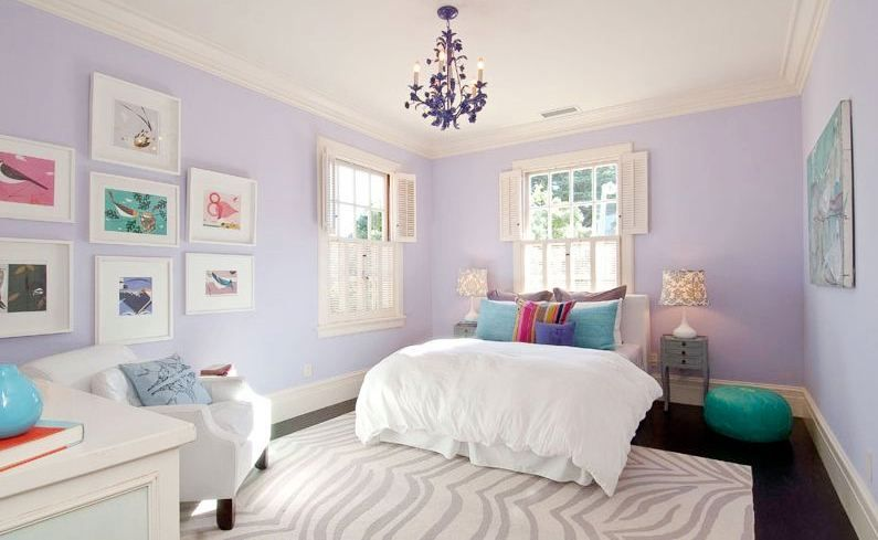 Penrose Light Purple Bedrooms Girls Bedroom Colors Lavender Room
