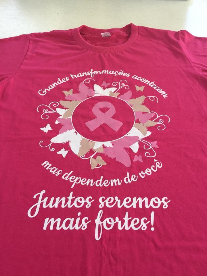 Resultado De Imagem Para Ideias Para Campanha Outubro Rosa Camisa Campanha Outubro Rosa Outubro Rosa Novembro Azul