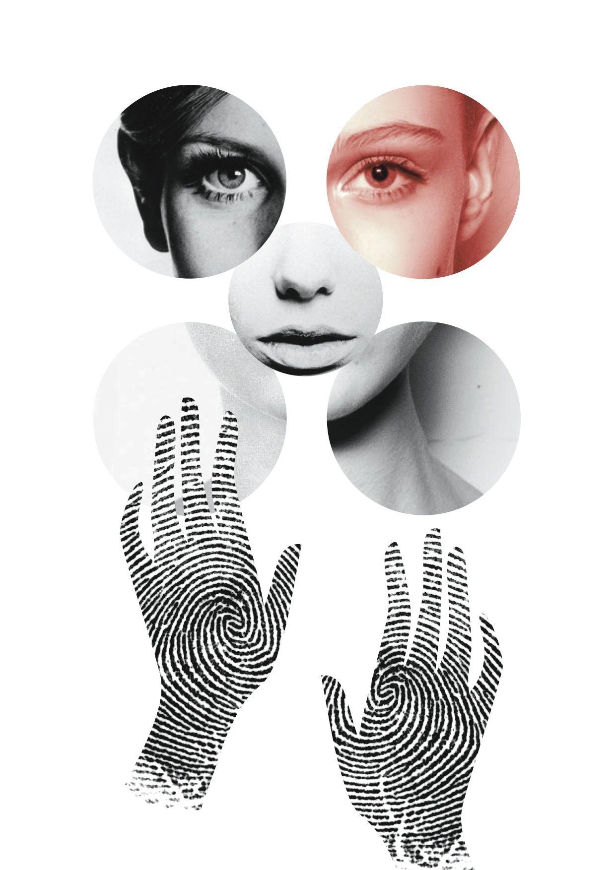 By essingtonbee designs. #graphic #design #circles #hands