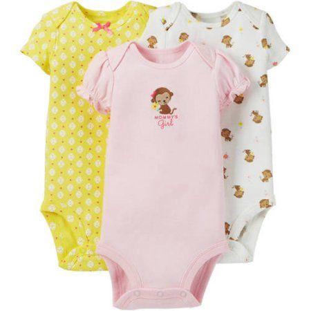 176d549bec Child Of Mine By Carter s Newborn Baby Girl Bodysuit