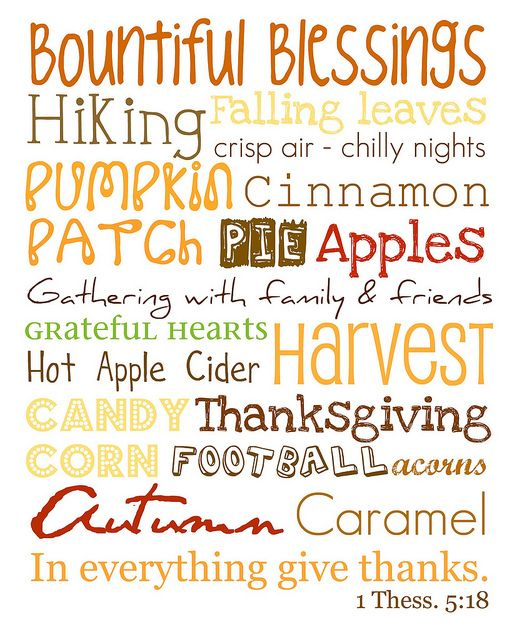 Freebie of the Day! Fall Treats Word Art Model/SKU
