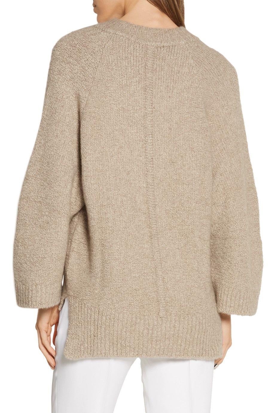 Shop on-sale Adam Lippes Oversized stretch-cashmere sweater ...