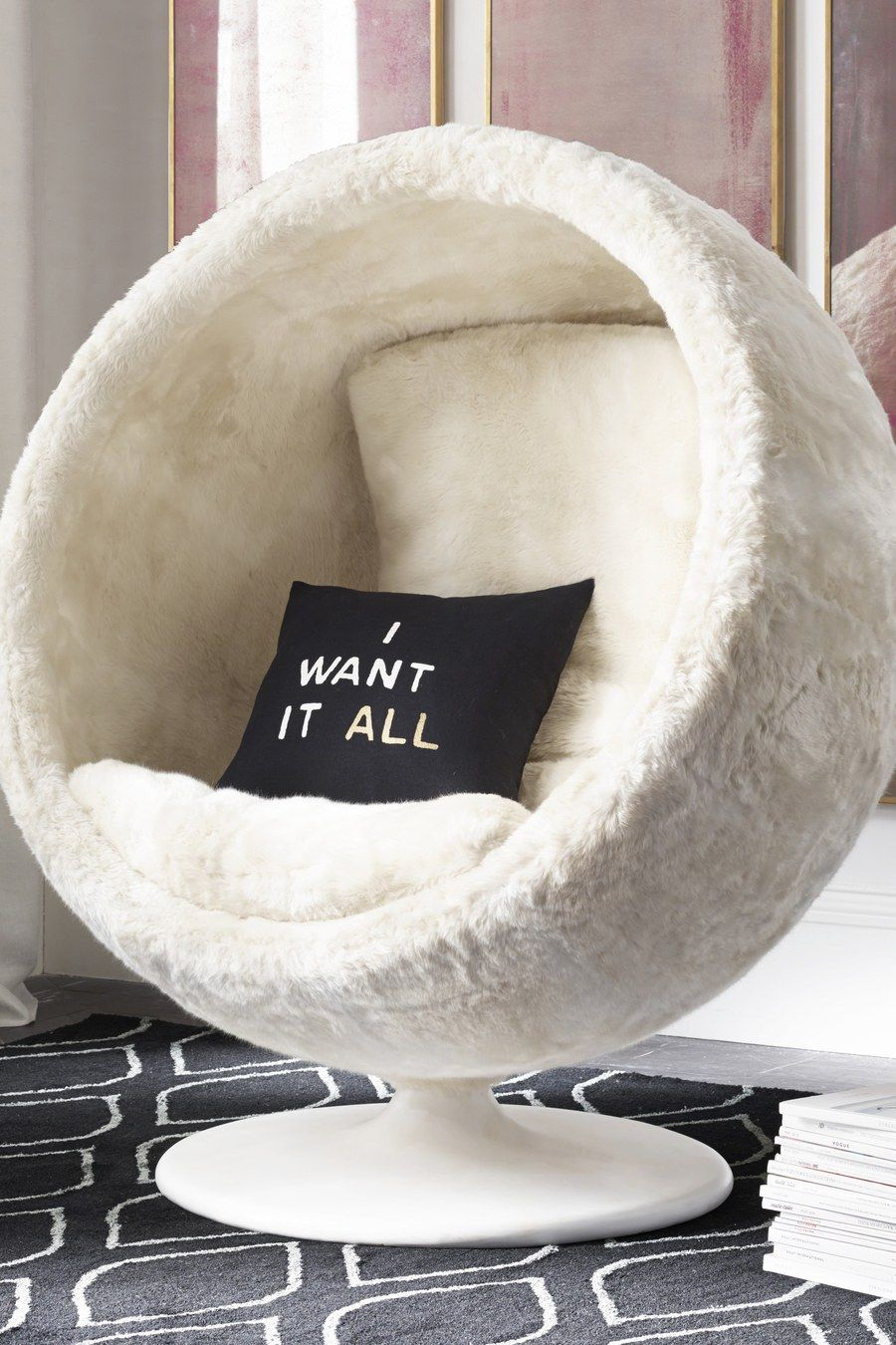 Bean bag chairs for teenage girls - Dream Bedroom Alert Restoration Hardware S New Teen Line Is Finally Here