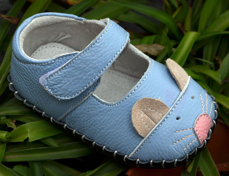 499078e9d9b9 baby girls shoes genuine leather soft sole first walkers toddler shoes crib  shoe 3D mouse cute