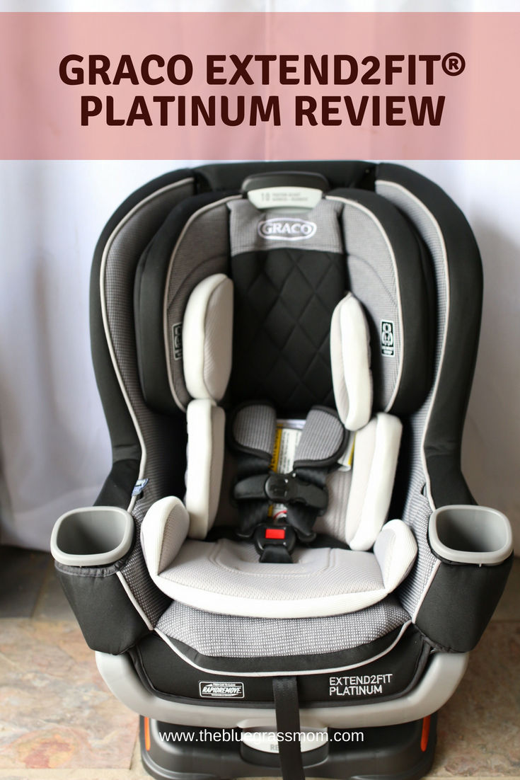 An Honest Review Of The Graco Extend2Fit Car Seat Perfect For Longer Rear Facing