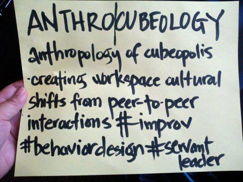 AIN anthrocubeology - inspiration and support at AIN 2012 - http://anthrocubeology.wordpress.com/2012/12/13/anthrocubeologist-on-stage/