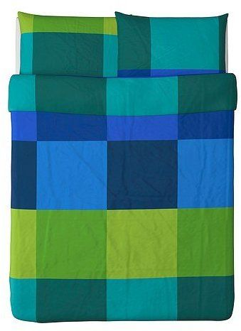 Ikea Brunkrissla Duvet Cover And Pillowcases Full Queen Blue Shopstyle Bed Linens Duvet Covers Duvet Covers Twin Queen Duvet