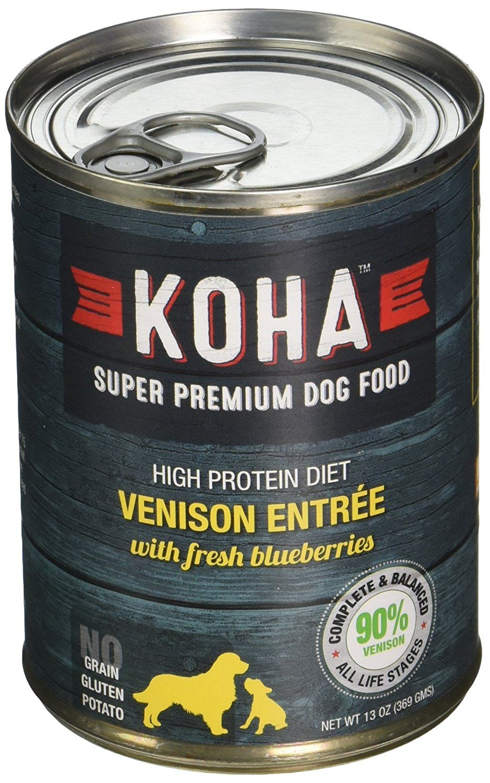 Koha can venison kiwi dog food 12 pack 13 oz want