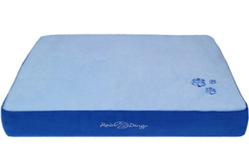 Red Dingo Dark Bluelight Blue Pet Bed Mattress Medium Want Additional Info Click On The Image Ins Dog Bed Furniture Cat Bed Furniture Memory Foam Dog Bed