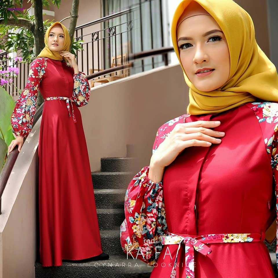 Gamis Syari di 2020 | Model pakaian, Gaya hijab, dan ...