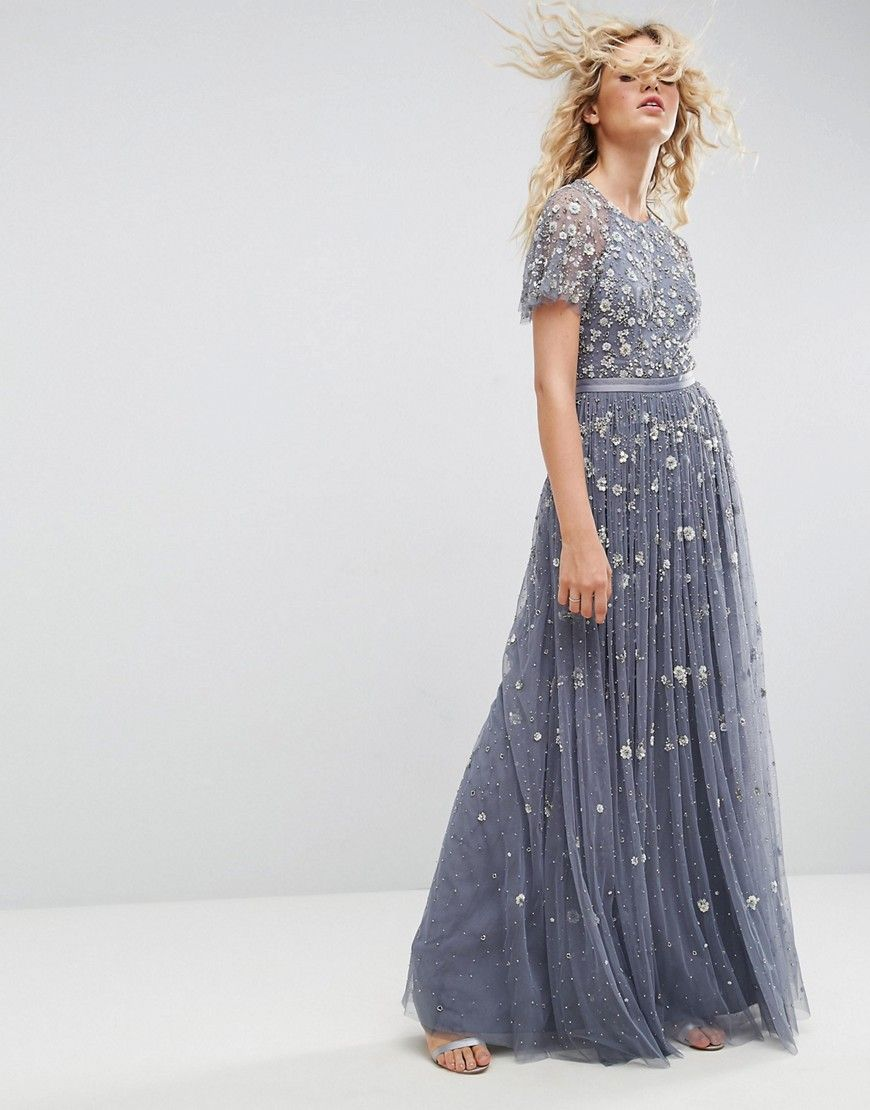 Needle and Thread Embellished Maxi Gown - Blue | Products I love ...