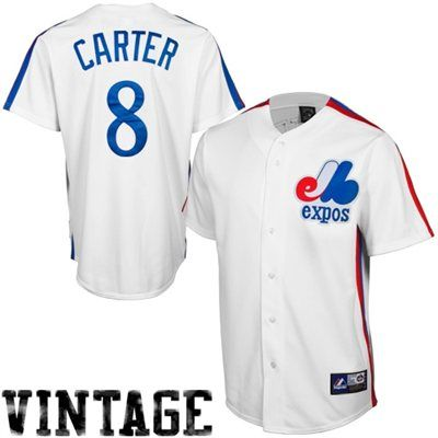 best service 9fe7c abaa8 Gary Carter Montreal Expos Cooperstown Collection Baseball ...