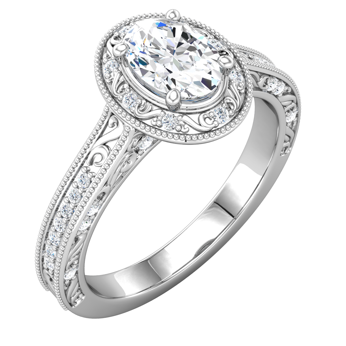 Gorgeous vintage style engagement ring by stuller wedding