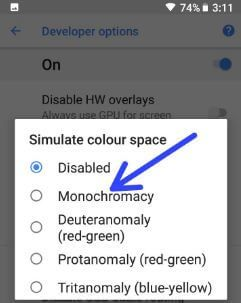 Best developer options s9