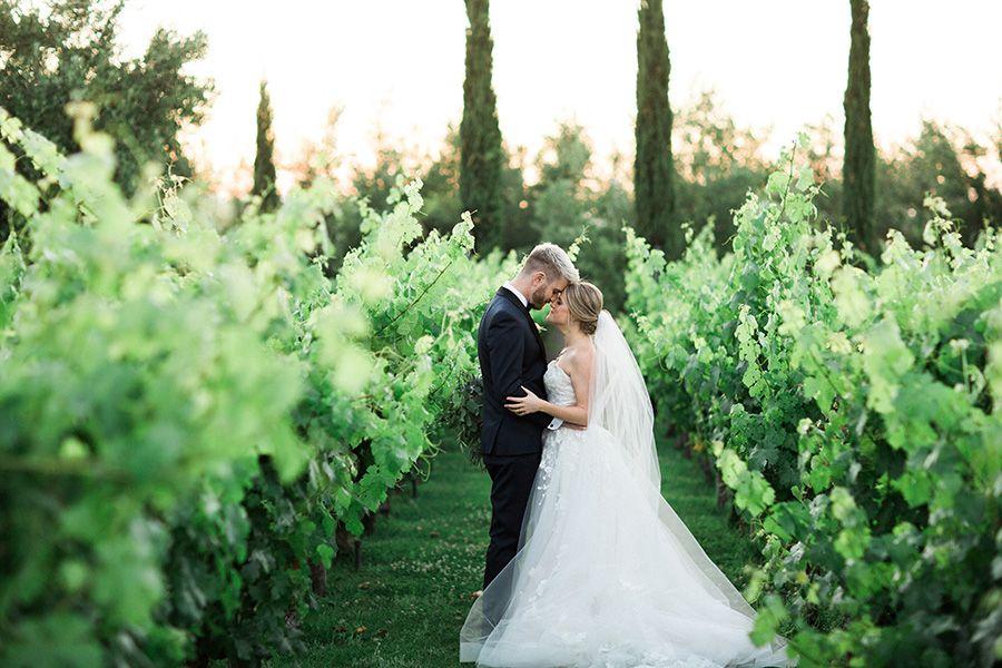 Italian Inspired Vineyard Wedding Ideas Private Temecula Wineries Strictly Weddings