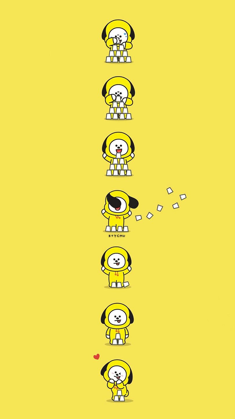 Bts Bt21 Wallpaper Chimmy Pls Make Sure To Follow Me Before U