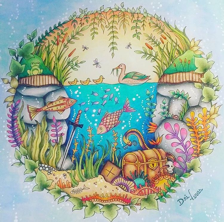 Inspirational Coloring Pages por Dri Veras #inspiração #coloringbooks #livrosdecolorir #jardimsecreto #secretgarden #florestaencantada #enchantedforest #reinoanimal #animalkingdom #adultcoloring #milliemarotta
