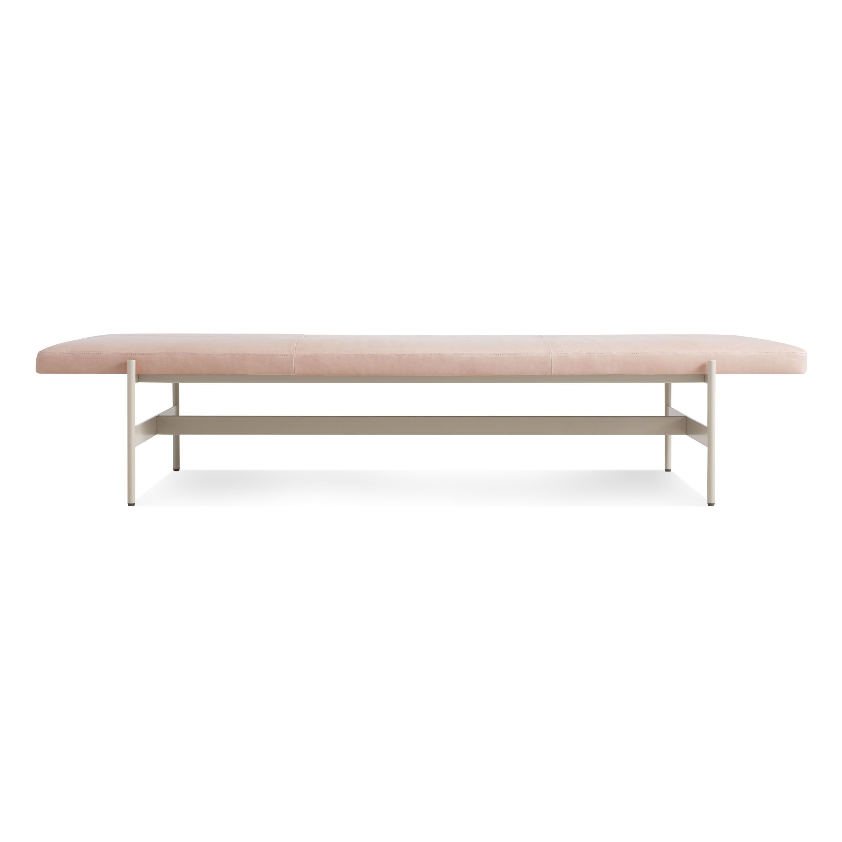Daybench Jumbo Modern Leather Bench Dining Benches Modern Bench