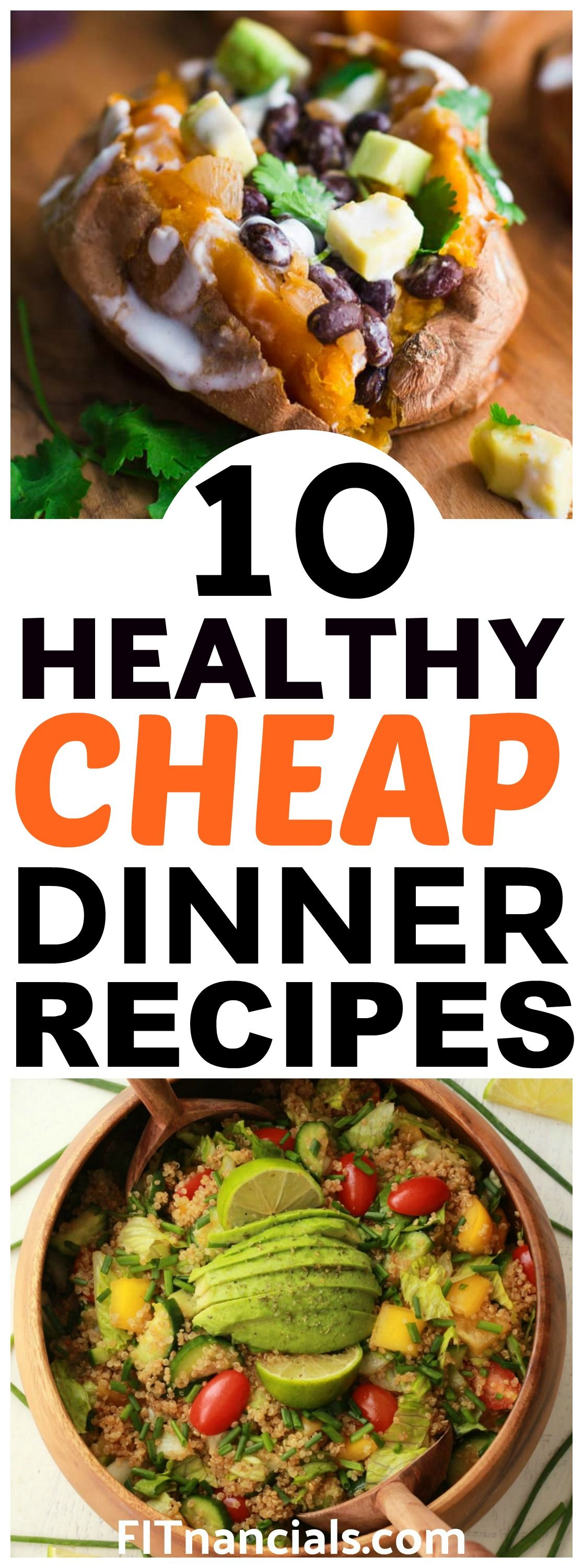 10 Healthy And Cheap Dinner Recipes