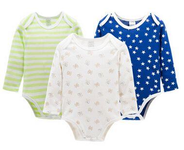 5fba4e827 Autumn Newborn Baby Retail 3 Pieces lot Cartoon Style Baby Girl Boy ...