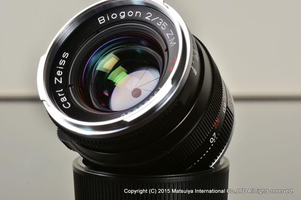MINT ** Carl Zeiss Biogon T * 35mm f/2 ZM for Leica M #Zeiss | Newly