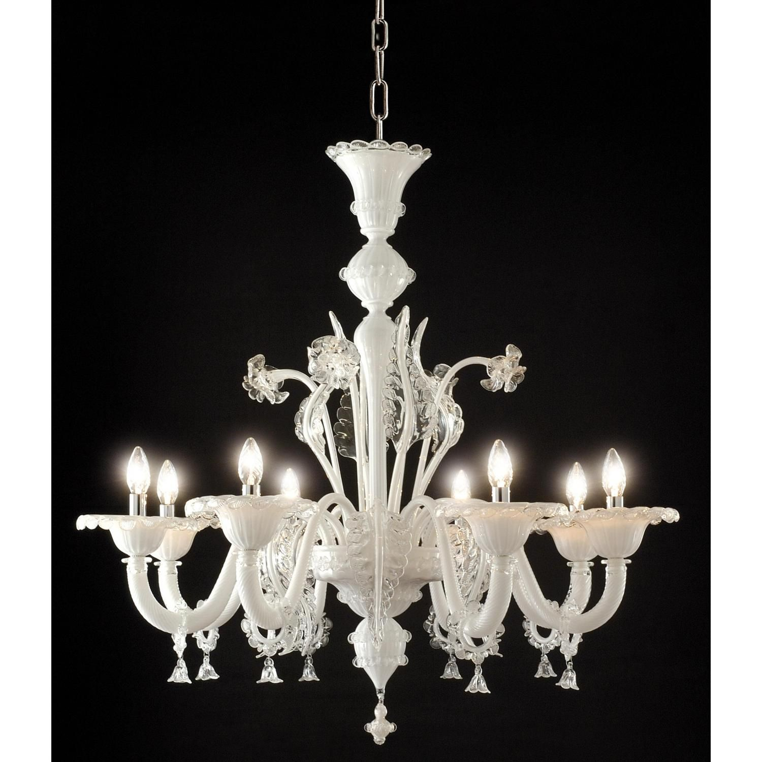 Elegant 8 lights chandelier of the Classic Collection