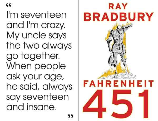 Quotes From Fahrenheit 451 Fahrenheit 451Ray Bradbury  46 Brilliant Short Novels You Can .