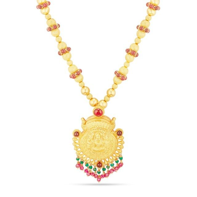 Gold Necklace Designs In 15 Grams With Price Gold Necklace Designs Necklace Designs Temple Jewellery