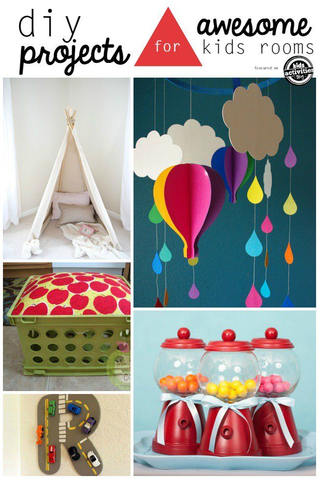 25 Ridiculously Easy Diy Projects For Kids Rooms