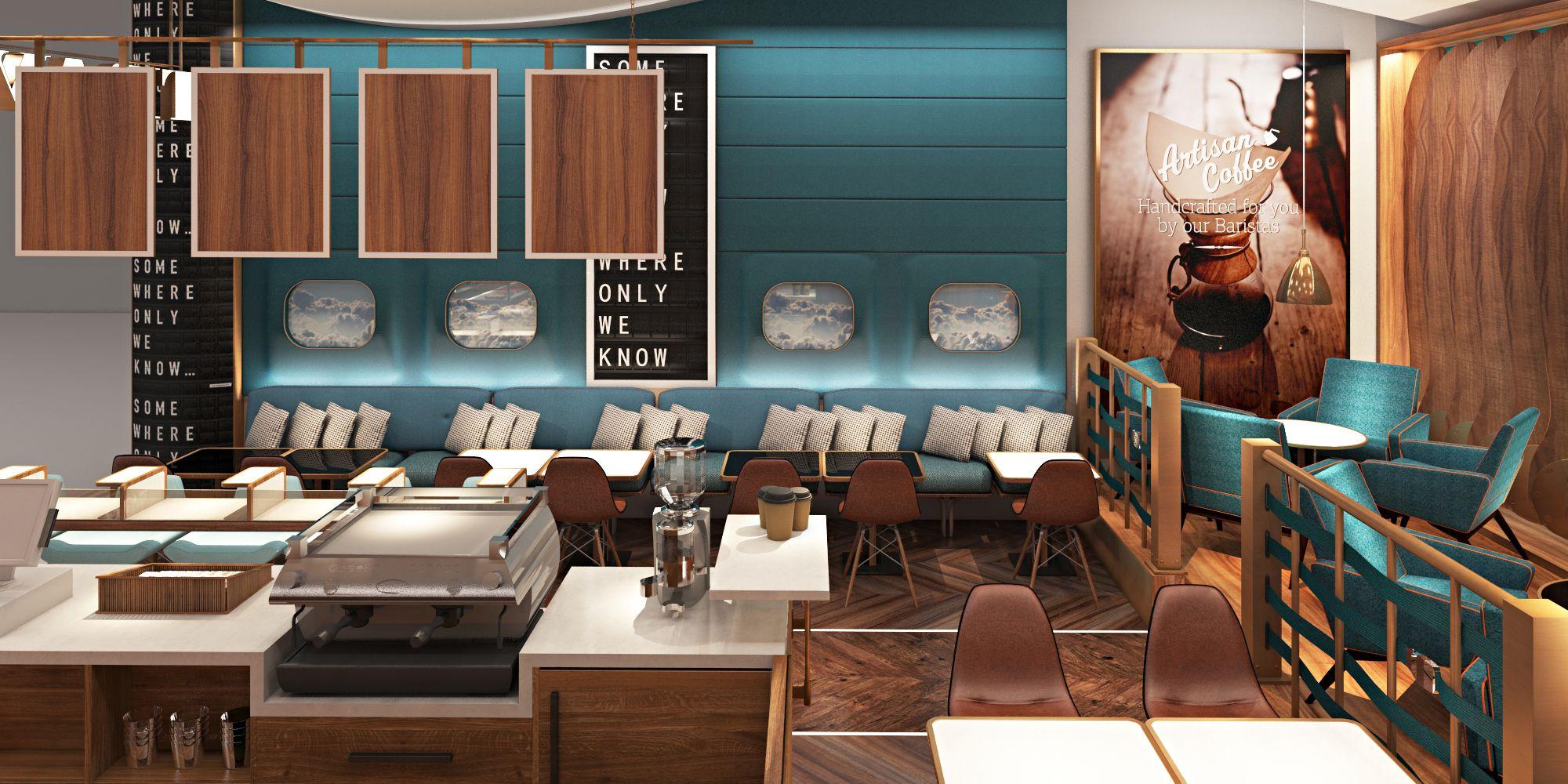 Airport Coffee Shop Design 0