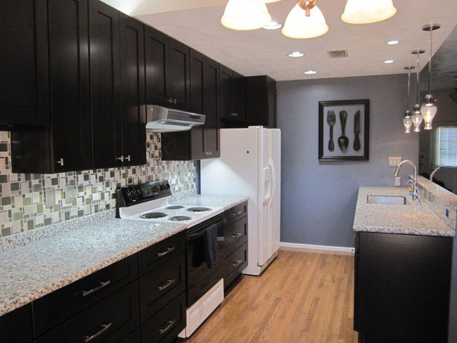 A Lovely Kitchen With Kck Pepper Shaker Cabinets Image From