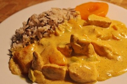Photo of Chicken – Peach – Curry by ohoboho | chef