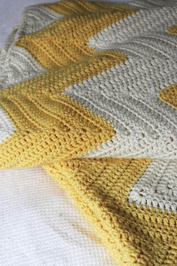 Chevron Crochet Blanket | New Craft, Crochet. | Pinterest ...