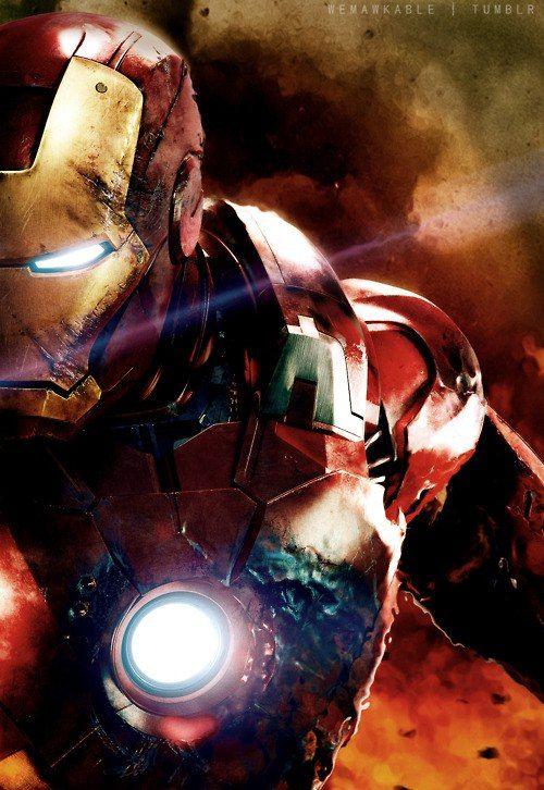 Battle damaged Iron Man   Tumblr   Geek Stuff   Marvel ...