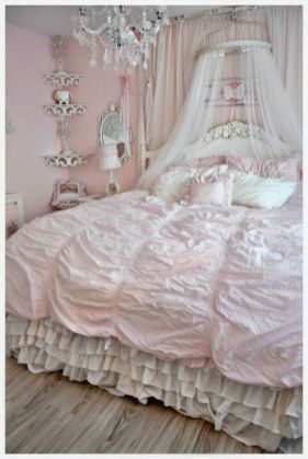 Photo of Elegant Shabby Chic Bedroom Decor And Furniture Inspirations (25)