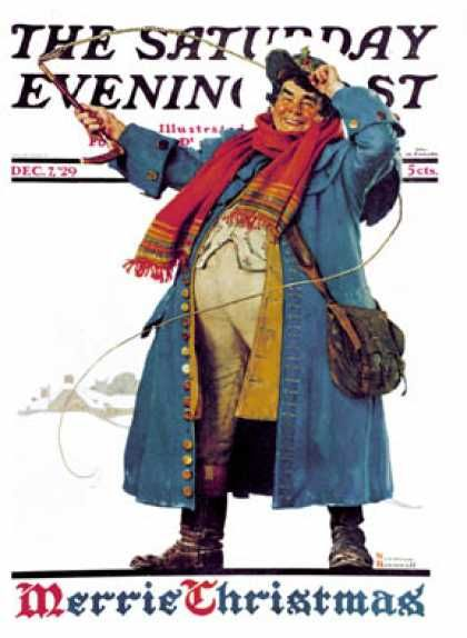 Christmas 1929 12 07 Norman Rockwell Saturday Evening Post