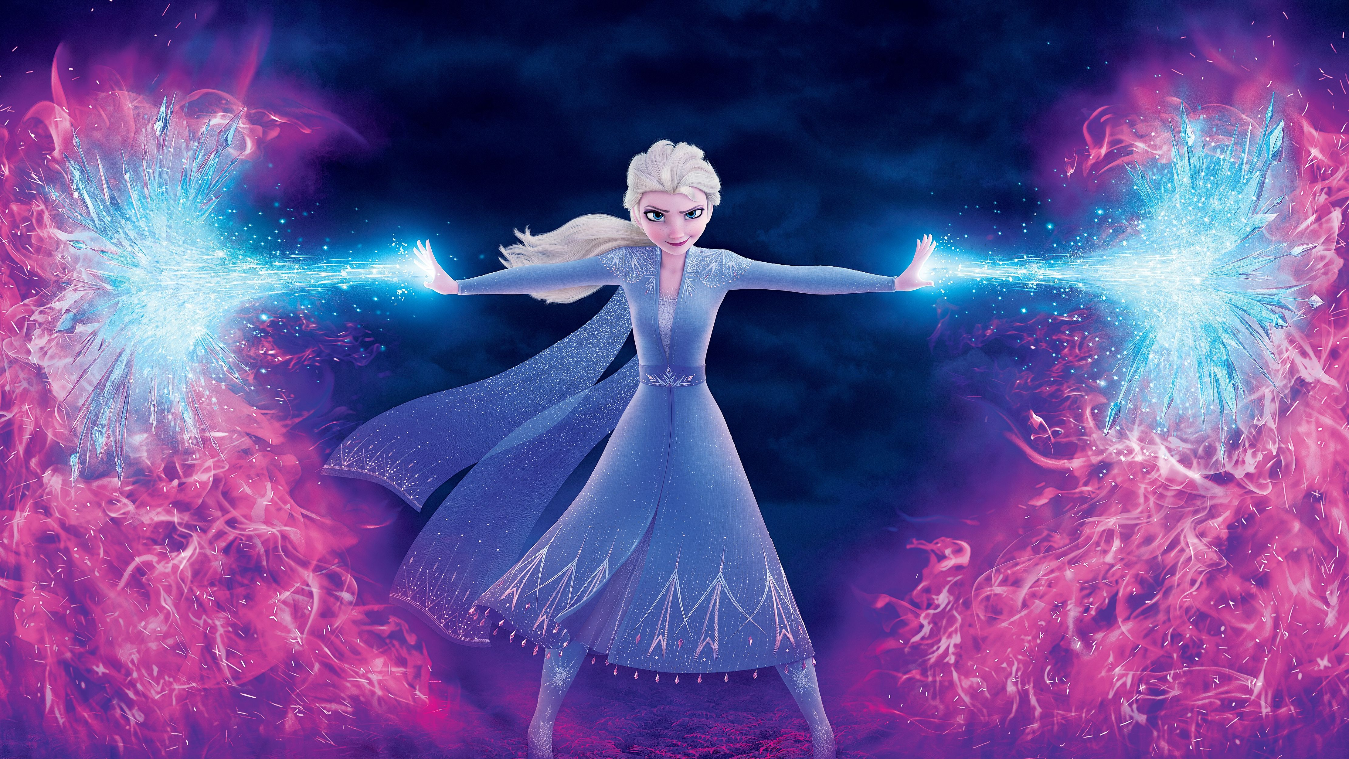 Frozen 2 2019 Elsa Wallpaper Textless By Mintmovi3 Disney Princess Frozen Frozen Disney Movie Elsa Pictures
