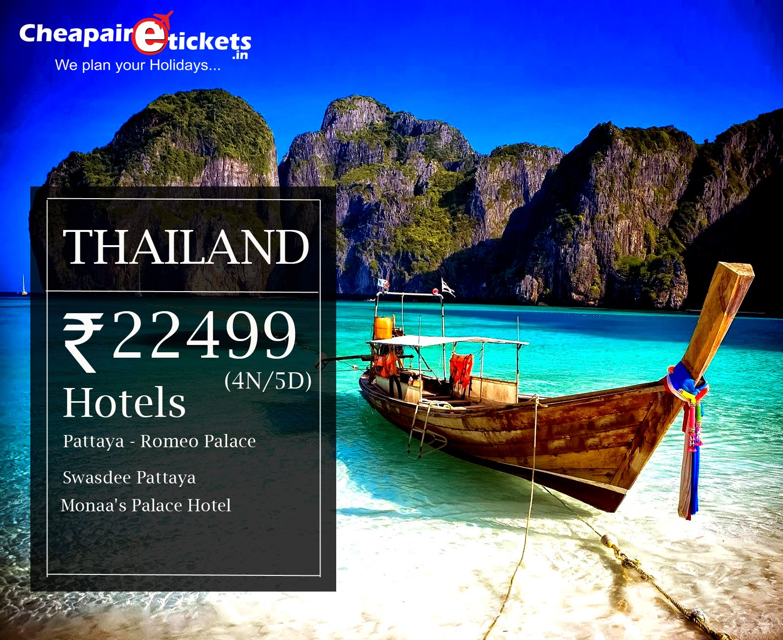 Thailand Vacation Deal  Cheap vacation packages Thailand