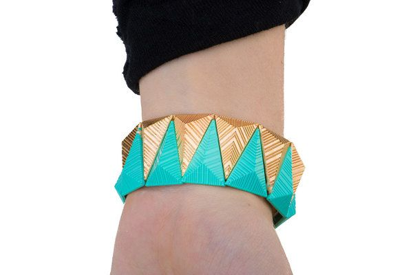 Gorgeous Holiday Statement Wristwear - Assorted Colors!    Get on trend with this stunning Aztec bracelet this holiday season!  Starting at  $2.99 ($19.99)  90% OFF